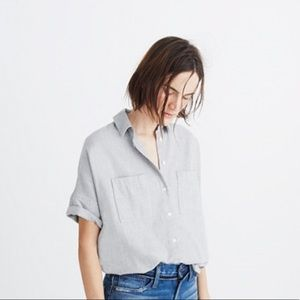 {madewell} flannel courier shirt